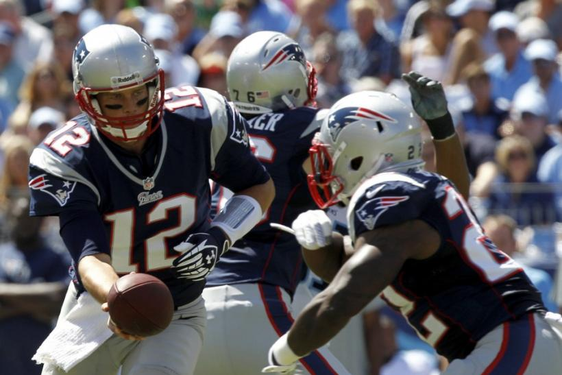 New England Patriots-Tom Brady-Stephen Ridley