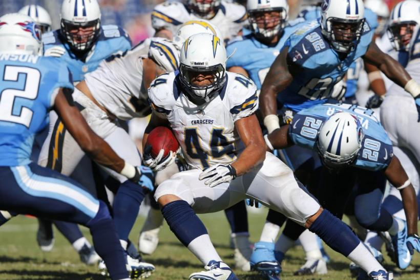 San Diego Chargers- Jackie Battle
