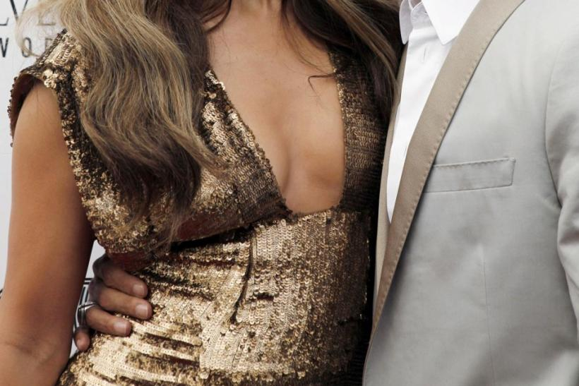 Jennifer Lopez and her husband Marc Anthony attend the 2010 Apollo Theater Spring Benefit Concert & Awards Ceremony at The Apollo Theater in New York.