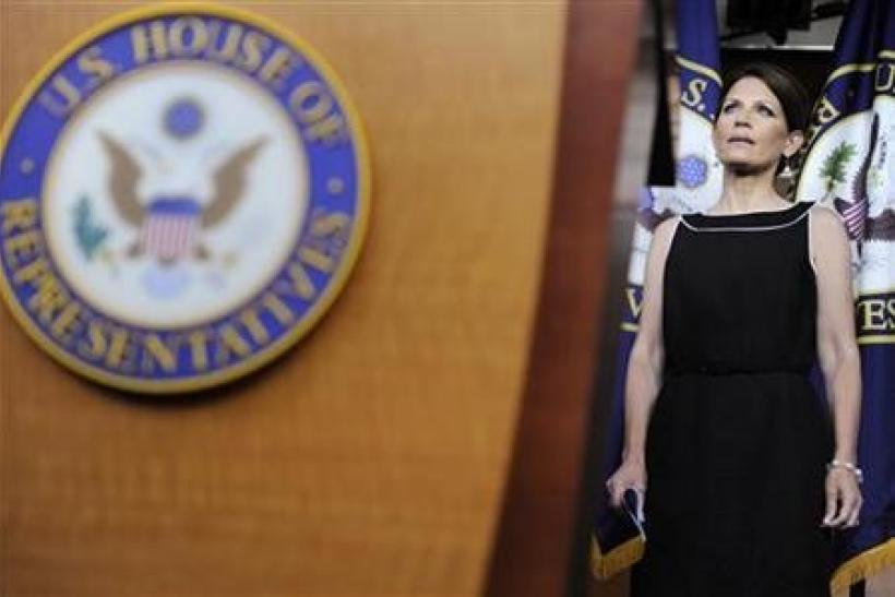 Eyeing Iowa, Bachmann hits at Pawlenty on credentials