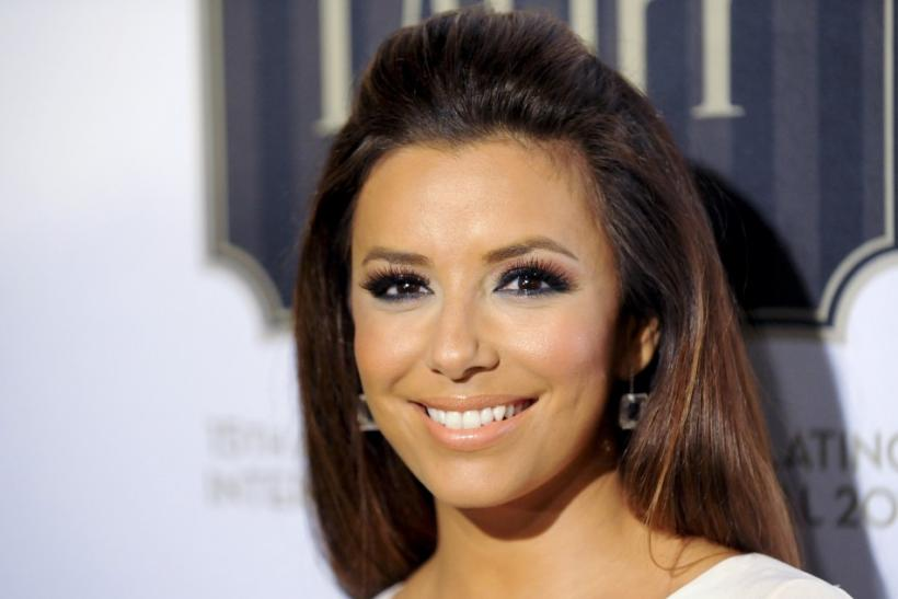 "Actress Eva Longoria arrives at the 2011 Los Angeles Latino International Film Festival special screening of ""Without Men"" during the Maya Indie film series in the Hollywood area of Los Angeles, California"