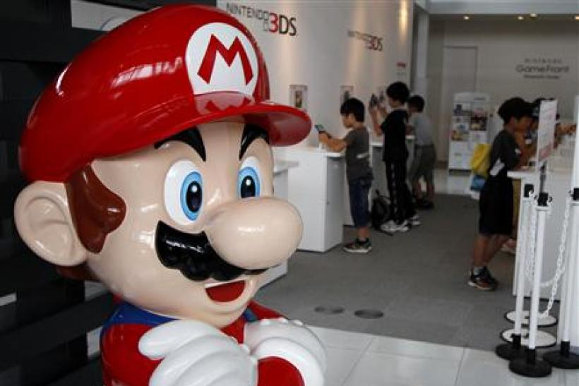 Nintendo Shares Plummet as Investors Lose Faith in Mario's Ability to Save the 3DS