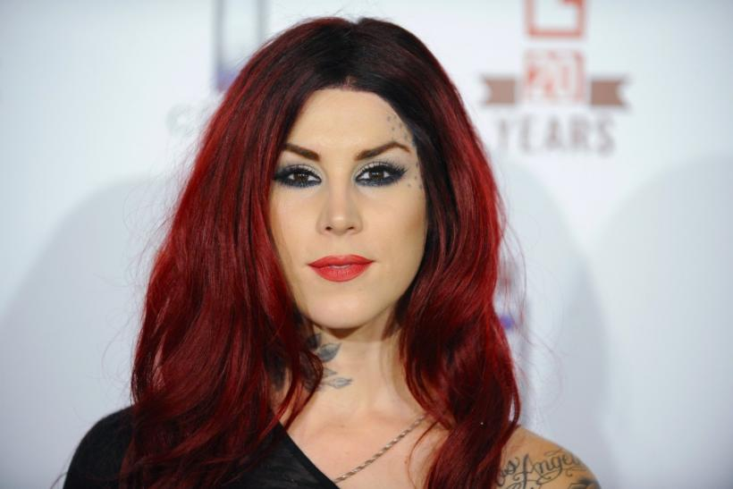 Television personality Kat Von D