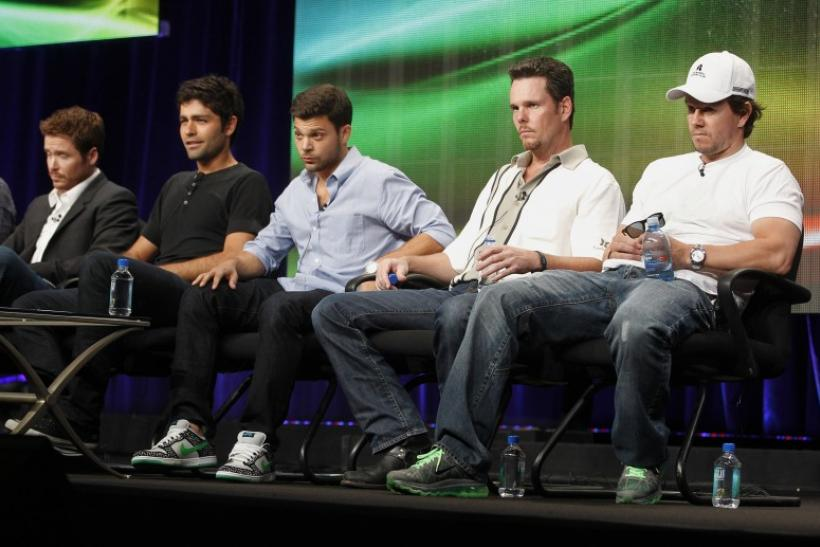 Cast members of the HBO series 'Entourage' at the 2011 Summer Television Critics Association Cable Press Tour in Beverly Hills