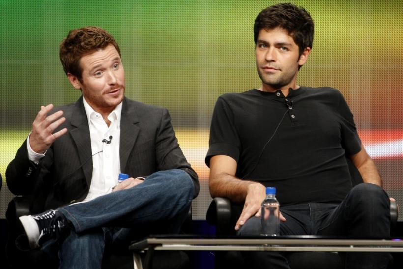 Kevin Connolly and Adrian Grenier