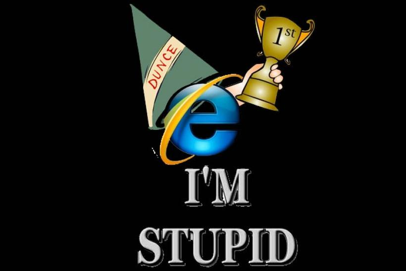 Internet Explorer users have lower IQ than others