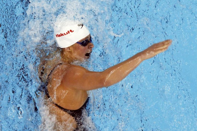 Beisel of U.S. competes in women's 400m individual medley heats at 14th FINA World Championships in Shanghai