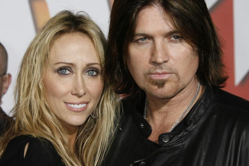 "Country music singer and actor Bill Ray Cyrus and wife Leticia ""Tish"" Cyrus"