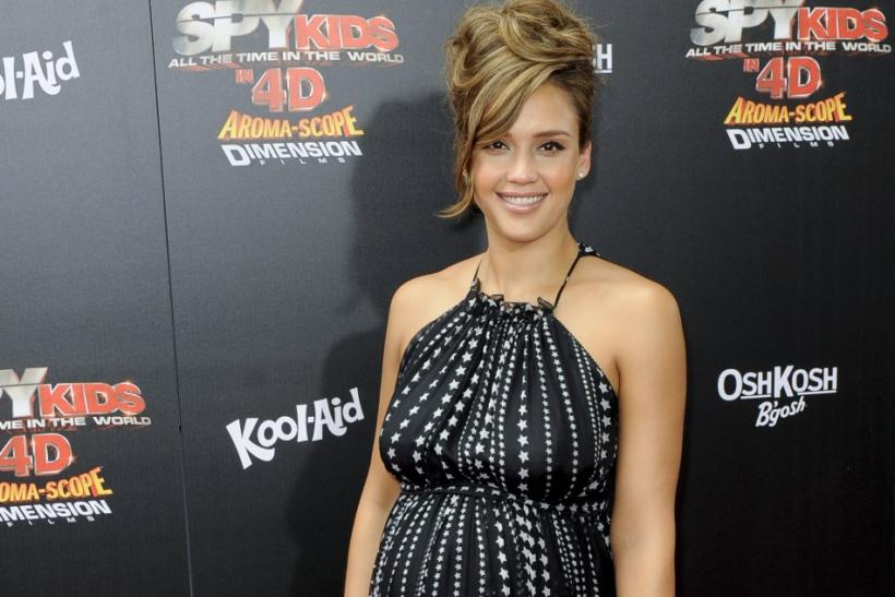 """Actress Jessica Alba arrives at the """"Spy Kids: All the Time in the World in 4D"""" premiere in Los Angeles, California"""