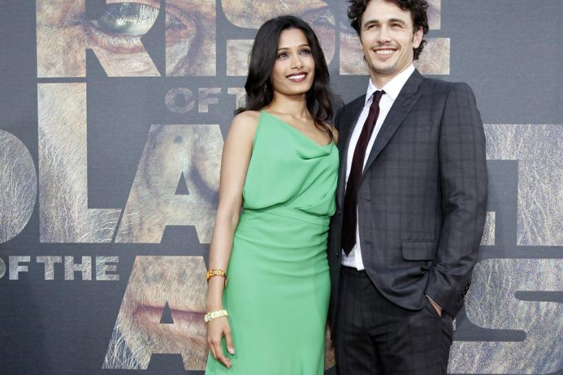 James Franco and Freida Pinto
