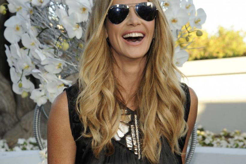 Model Elle Macpherson attends the NBC Universal Press Tour All-Star Party in Beverly Hills, California