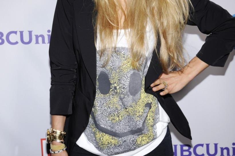 Former professional tennis player Anna Kournikova of Russia attends the NBC Universal Press Tour All-Star Party in Beverly Hills, California