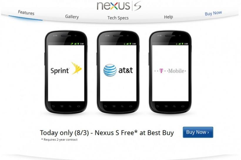 Nexus S for free