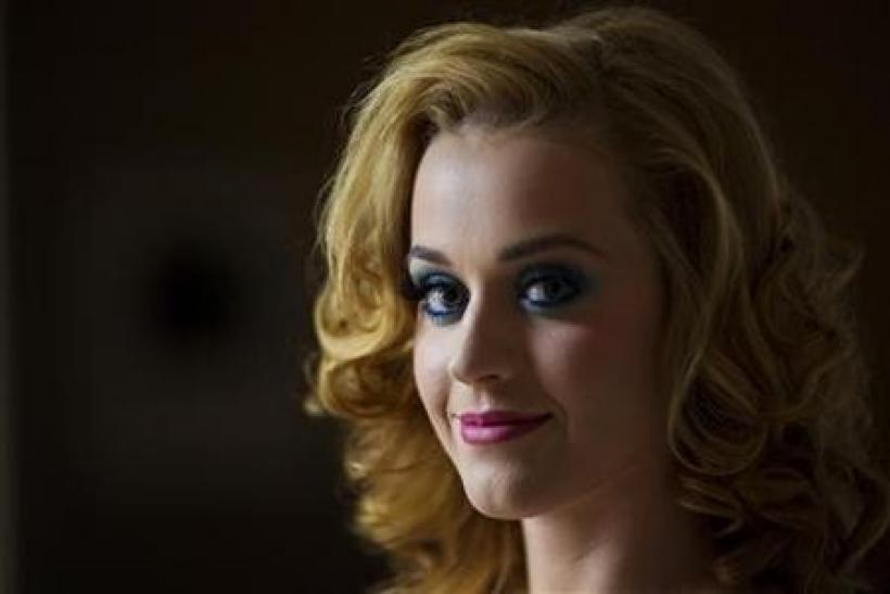 Singer Katy Perry poses for a portrait in New York