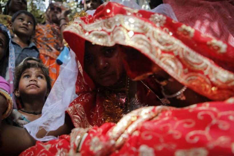 To match feature CHILDMARRIAGE/