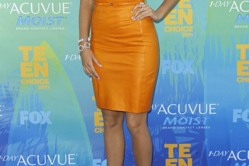 Actress Blake Lively arrives at the Teen Choice Awards in Los Angeles