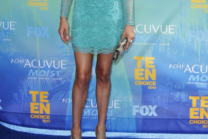 British actress Cat Deeley arrives at the Teen Choice Awards in Los Angeles