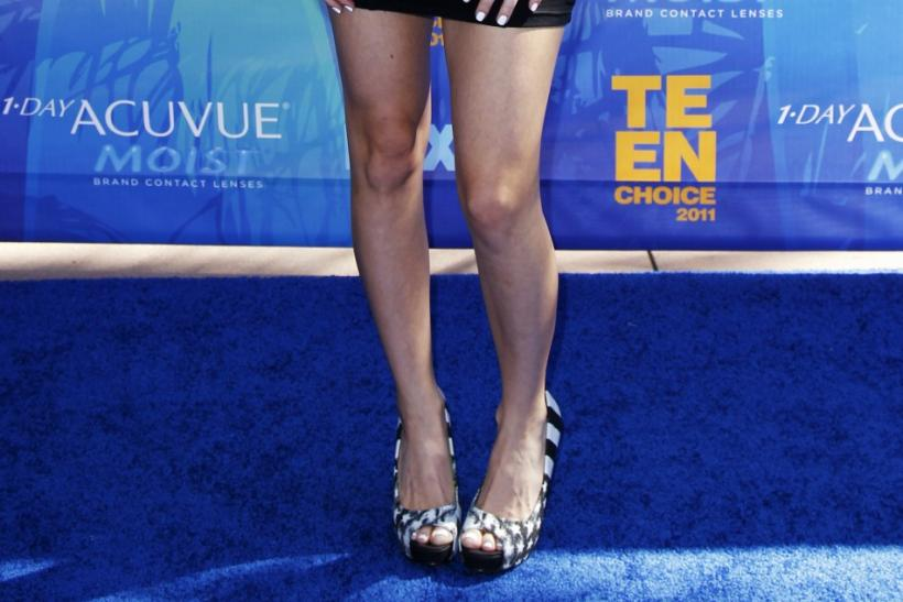 Canadian singer Avril Lavigne arrives at the Teen Choice Awards in Los Angeles