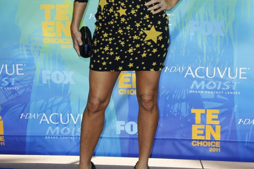 U.S. singer Fergie arrives at the Teen Choice Awards in Los Angeles