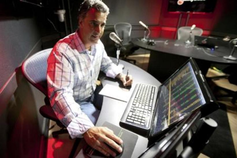Tony Battista of Tasty Trade works in his Chicago studio