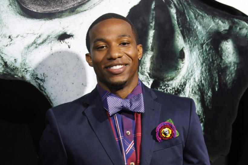 "Cast member Arlen Escarpeta poses at the premiere of ""Final Destination 5"" at the Grauman's Chinese theatre in Hollywood, California"