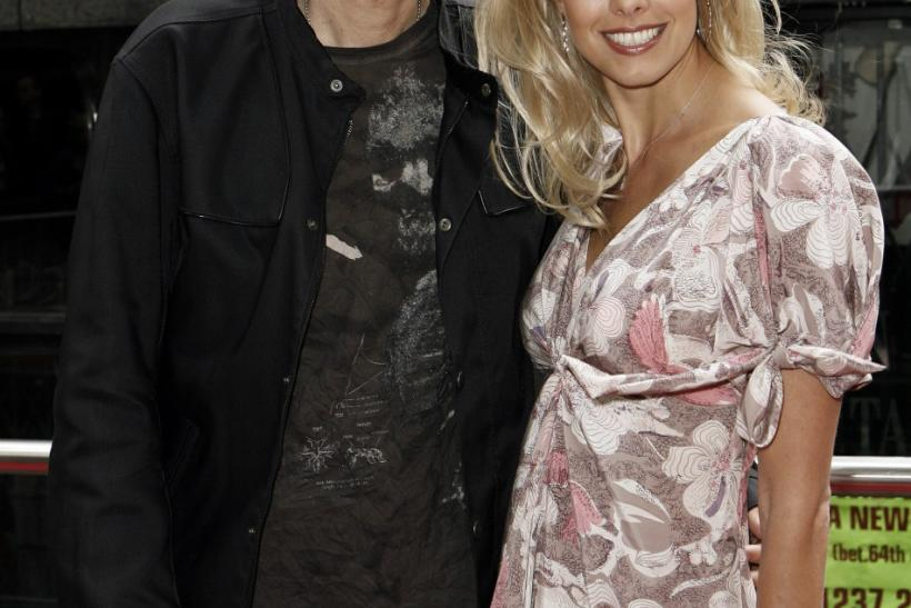 Howard Stern and fiancee Beth Ostrosky