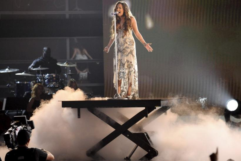 Recording artist Demi Lovato performs during the Do Something Awards in Los Angeles, California