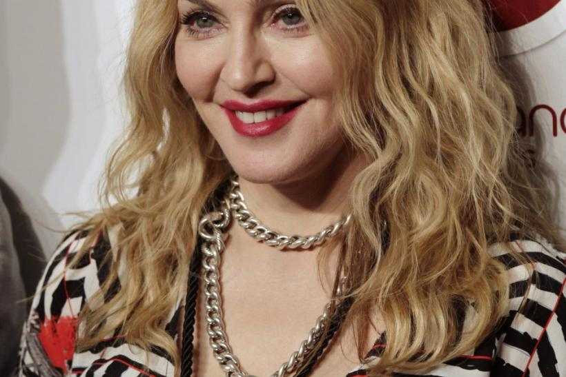 Madonna arrives to open Hard Candy Fitness gym in Mexico City, November 29, 2010.