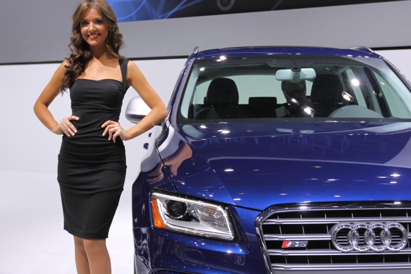 Detroit Auto Show 2013 Pictures Of Hot Girls From