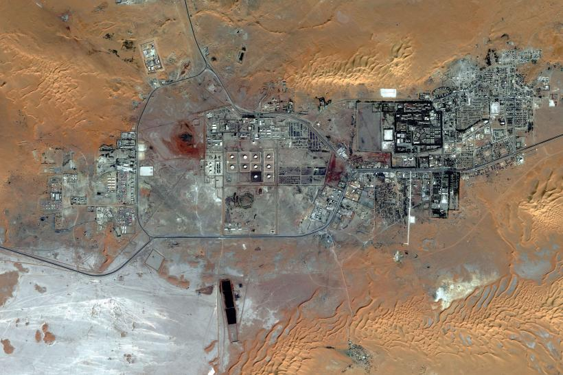 Amenas Gas Field, Algeria