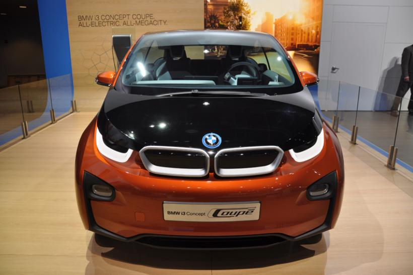 BMW i3 electric vehicle