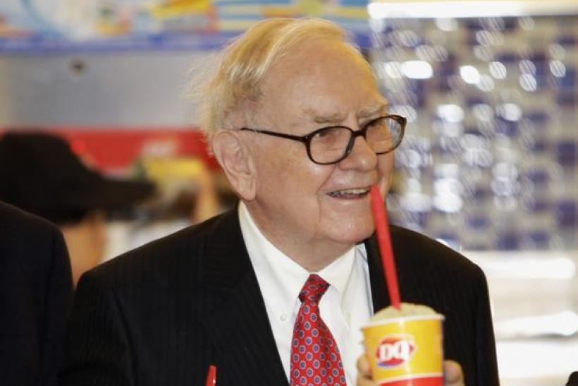 Billionaire Warren Buffett