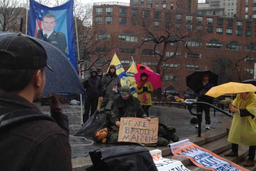 Manning Protest
