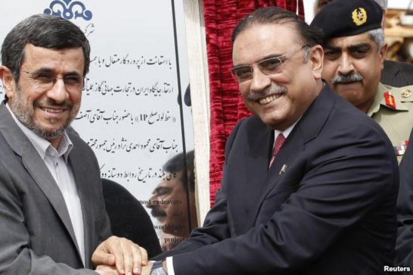 Ahmadinejad and Zardari