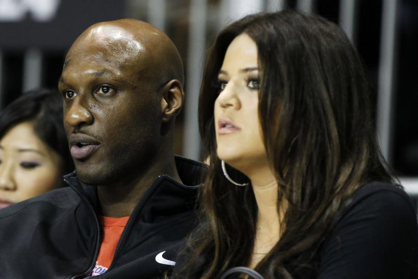 Odom And Kardashian