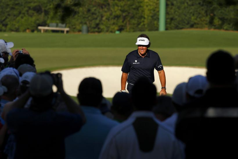 Phil Mickelson Masters 2013