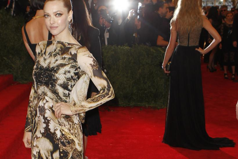 Amanda Seyfried at the 2013 Met Gala