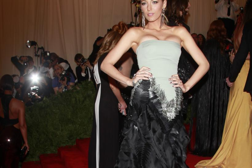 Blake Lively at the 2013 Met Gala