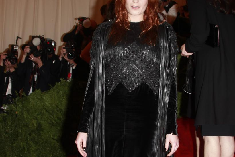 Florence Welch at the 2013 Met Gala