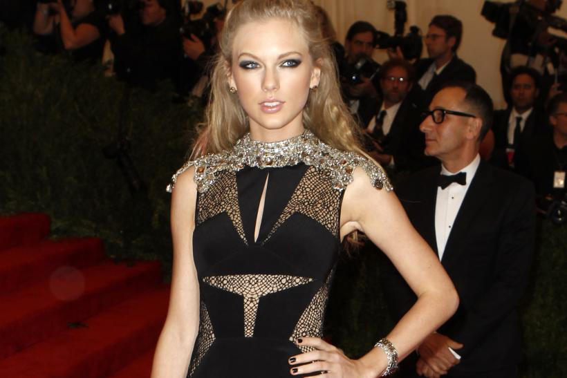Taylor Swift at the 2013 Met Gala