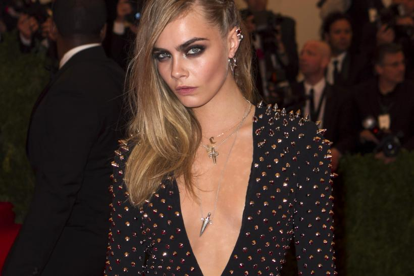 Cara Delevingne at the 2013 Met Gala