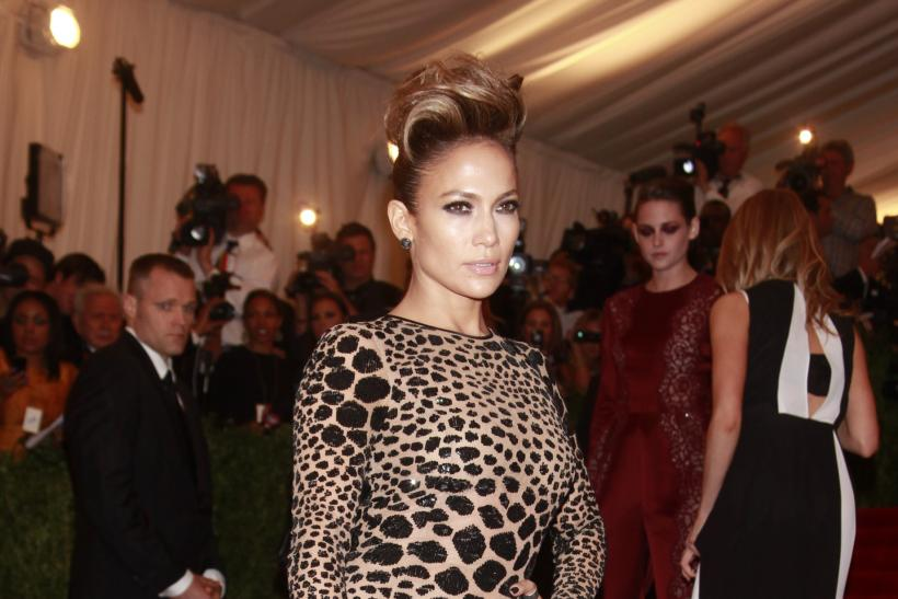 Jennifer Lopez at the 2013 Met Gala