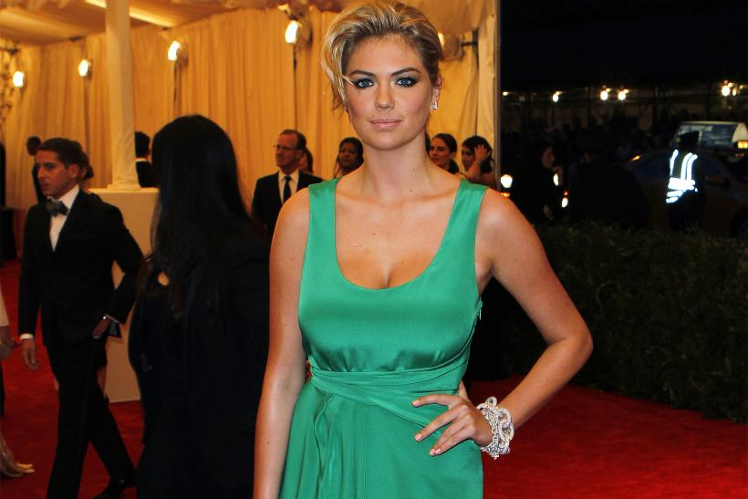 Kate Upton at the 2013 Met Gala