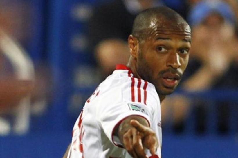 Thierry Henry NY Red Bulls