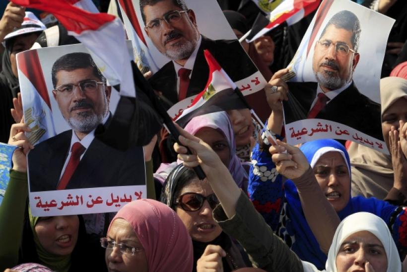 Mohamed Morsi's supporters