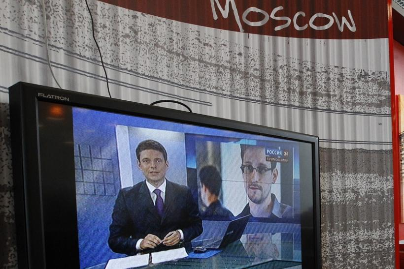 Snowden Moscow 2