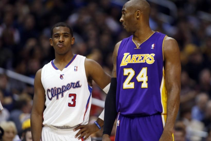 Chris Paul Kobe Bryant