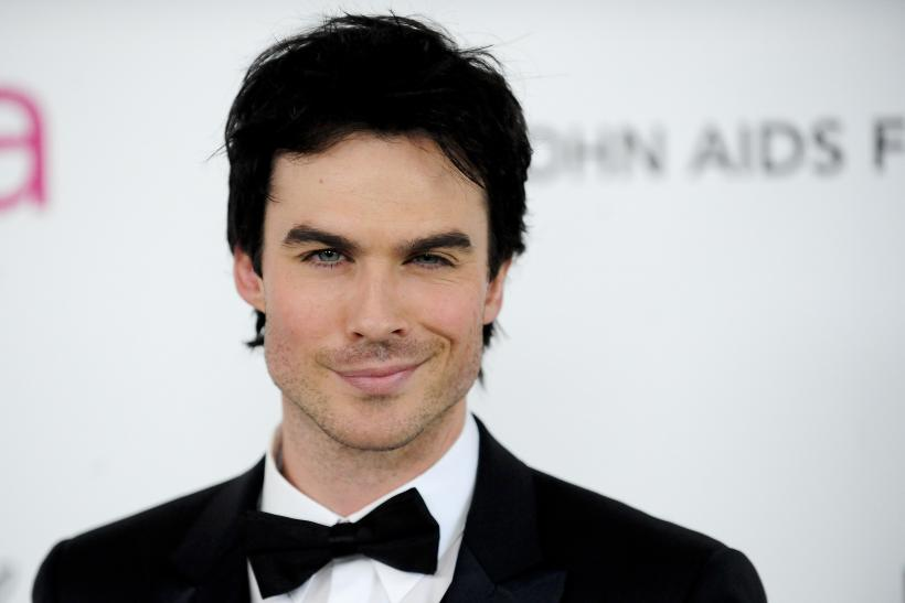 Is Ian Somerhalder Engaged Vampire Diaries Actor Accepts Marriage