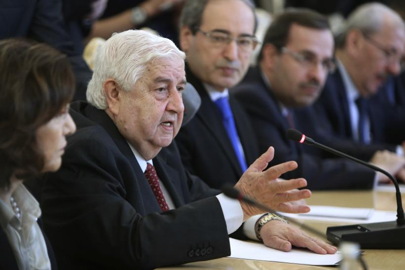 Moualem Walid Syria Foreign Minister