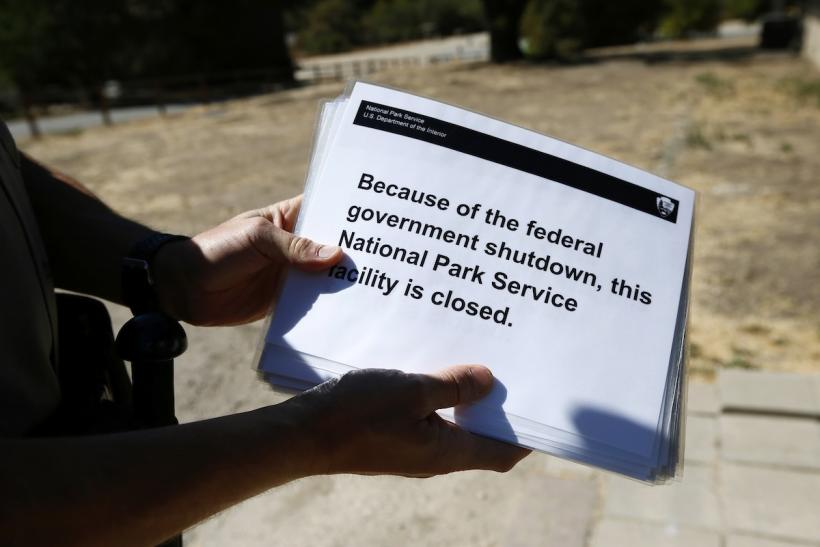 National Parks Closed